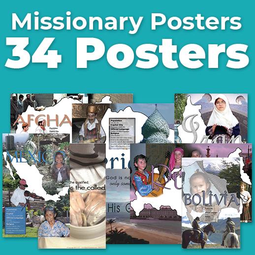 BBTI Missionary Posters