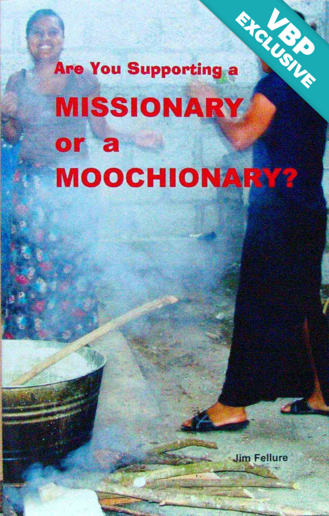 Are You Supporting a Missionary or a Moochionary? Book Cover