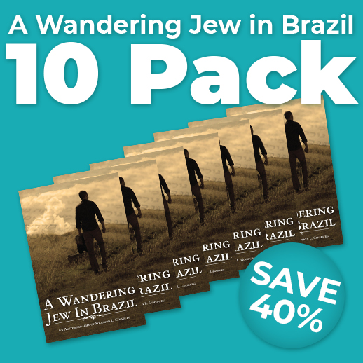 A Wandering Jew in Brazil Wholesale Pack