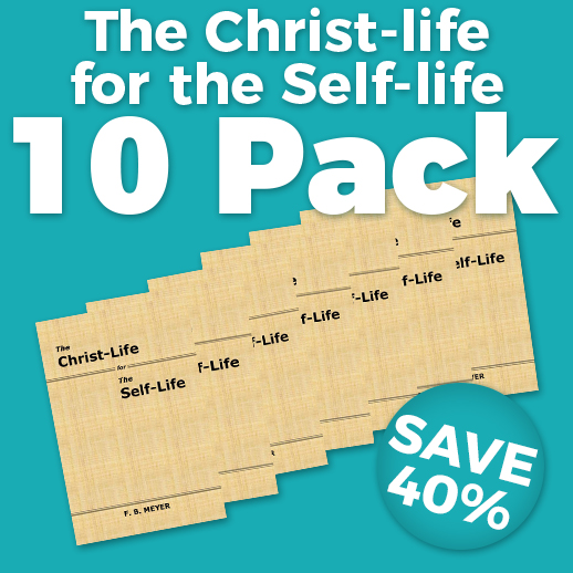 Christ-life for the Self-life Wholesale