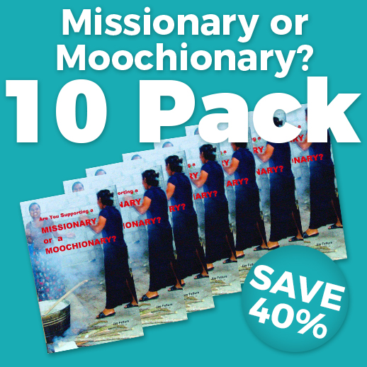 Missionary or Moochionary? Wholesale