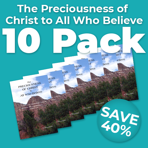 The Preciousness of Christ to All Who Believe Wholesale