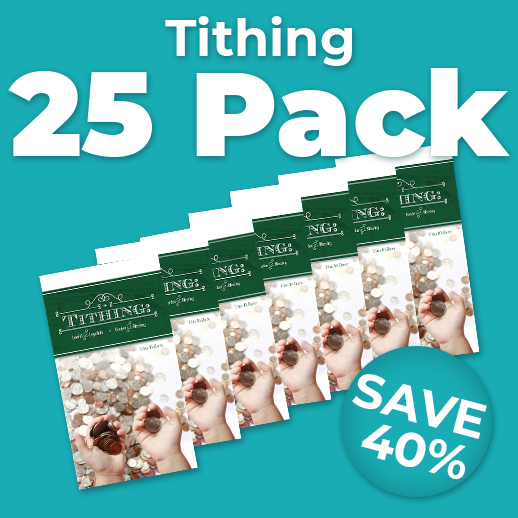 Tithing 25 Pack Wholesale