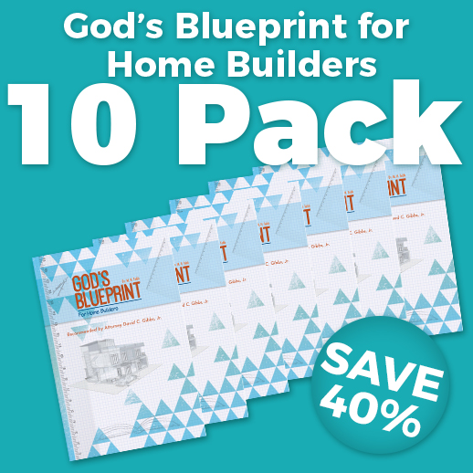 God's Blueprint for Home Builders Wholesale