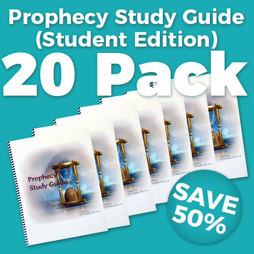 Prophecy Study Guide Student Edition 20 Pack Wholesale