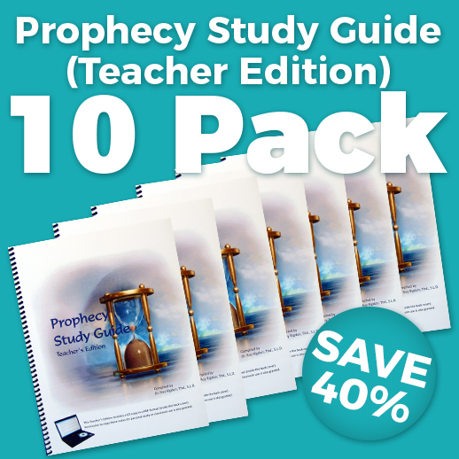 Prophecy Study Guide Teacher Edition 10 Pack Wholesale