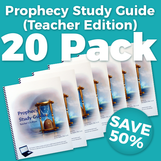 Prophecy Study Guide Teacher Edition 20 Pack Wholesale