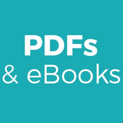 PDFs & eBooks