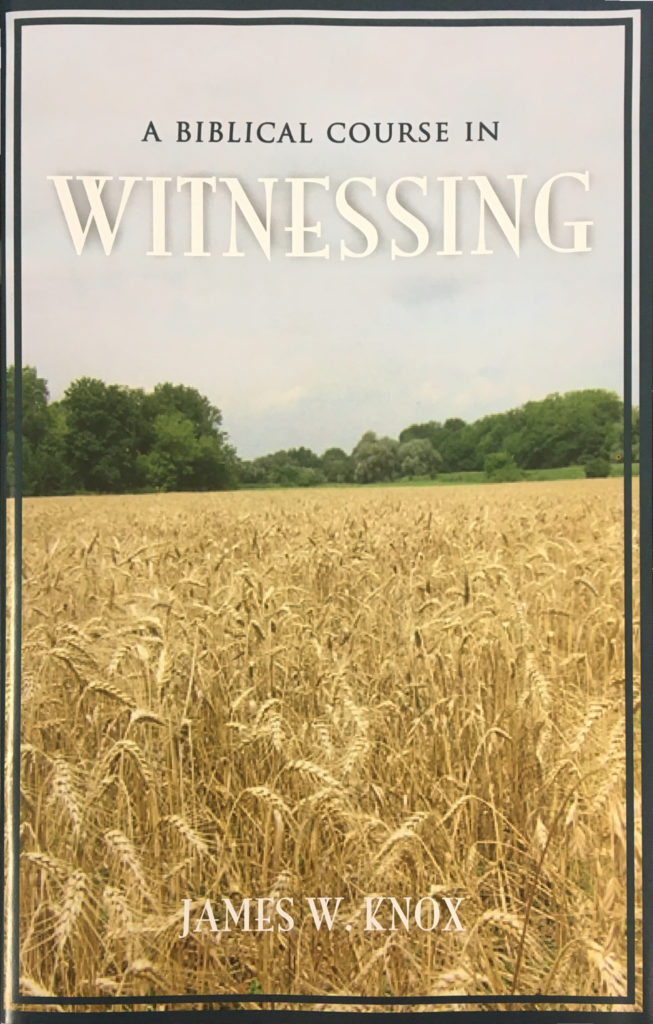 Biblical Course on Witnessing Book Cover