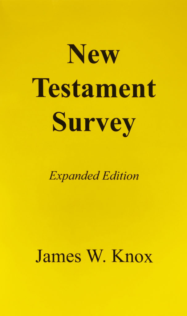 New Testament Survey (expanded edition) Book Cover