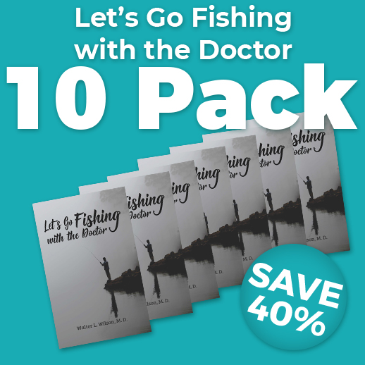 Let's Go Fishing with the Doctor 10 Pack