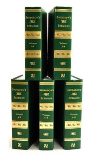 Spurgeon's Sermons, 5 Volume set