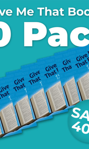 Give Me That Book! Bundle of Ten